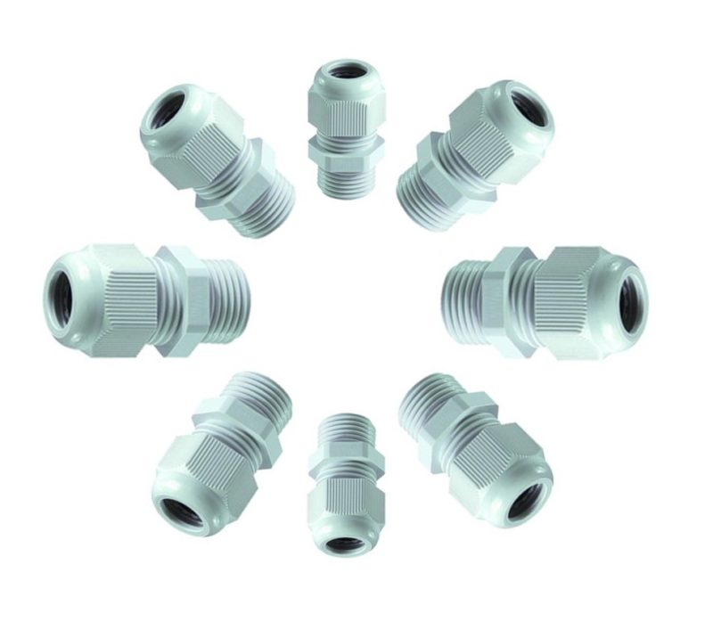 Metric IP68 rated Nylon Cable Glands